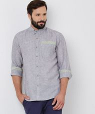Yepme William Linen Shirt - Grey for Rs. 799