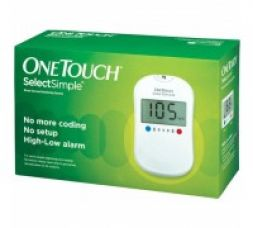 Buy Johnson & Johnson One Touch SelectSimple Blood Glucose Monitor from Zotezo