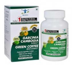 Buy Biosys Garcinia Cambogia & Green Coffee Extract Combination - 60 Veg Capsules from Zotezo