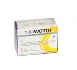 Get 62% off on Truworth G-30 Blue Test Strips Combo 50 + 25 Free Lancets