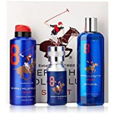 Buy Beverly Hills Polo Club Gift Set 8 for Men (Eau De Toilette, Body Wash and Deodorant) from Amazon