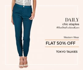 Get Flat 50% Off on Western Wear
