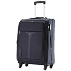 Buy VIP Benz Strolly Exp 4 wheel Nylon Blue Softsided Carry-On (STBENX55BLU) from Amazon