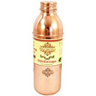 IndianArtVilla Pure Copper water Bottle 800 ML for Rs. 465