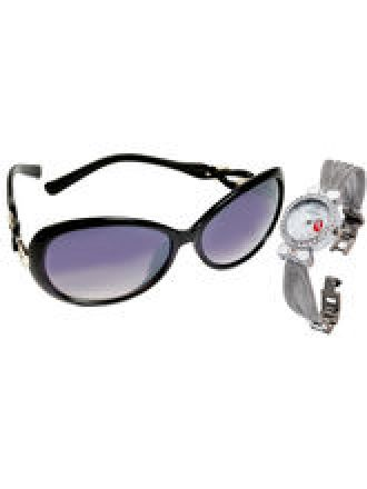 Ladies Watch with Sunglasses Combo for Rs. 999