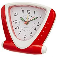 Buy Orpat Beep Alarm Clock (Red and White, TBB-337) from Amazon