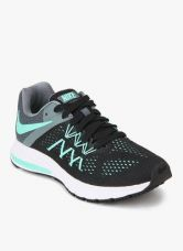 Buy Nike Zoom Winflo 3 Black Running Shoes from Jabong