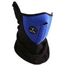 Afs Blue Neoprene Bicycle Motorcycle Snowboard Ski Cycling Half Face Mask With A Cutout For Nose Breathing Neck Warmer For Men And Women for Rs. 290