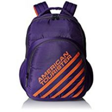 Buy American Tourister 21 Ltrs Purple Casual Backpack (Ebony Backpack 01) from Amazon