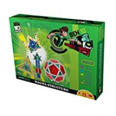 Buy Toyzone Ben 10 Magna Structure, Multi Color (220 Pieces) from Amazon