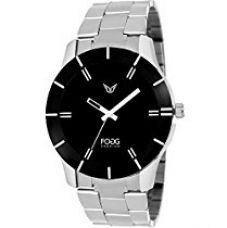 Buy Fogg Analog Black Dial Men's Watch -2004-BK from Amazon