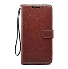Buy Bracevor LeEco Le Max 2 Premium Leather Case *Inner TPU, Wallet Stand, Flip Cover - Executive Brown from Amazon