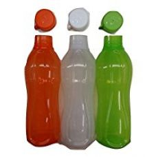 Buy Tupperware water bottle (1 liter) set of 3 - Tricolor theme combo - freedom bottle set of 3 from Amazon