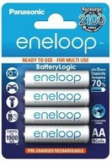Flat 16% off on Panasonic Eneloop BK-3MCCE/4BN Rechargeable Battery 4 x AA 2000mAh