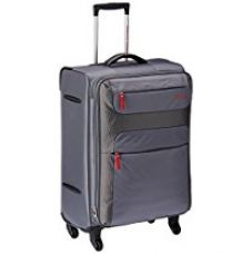 American Tourister Ski Polyester 68Cms Grey/Red Soft Sided Suitcase (26R (1) 68 002) for Rs. 5,590