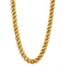 Buy Charms Chain for Men (Golden)(ch-032ef) from Amazon