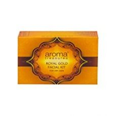 Buy Aroma Treasure royal gold facial kit for dry skin - single time from Amazon