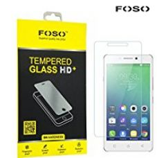 FOSO(™) Lenovo Vibe P1m 2.5D Curved Edge 9H Hardness Toughened Tempered Glass Screen Guard Protector for Rs. 299