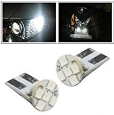 Buy Vheelocityin 5LED Parking Bulb Flat Shape for All Cars/ Bikes/ Scooty from Amazon