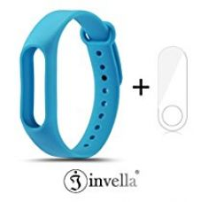 Buy Mi Band 2 Strap, invella (TM) Mi Band 2 Replacement Belt/Strap (Blue) with Screen Guard from Amazon