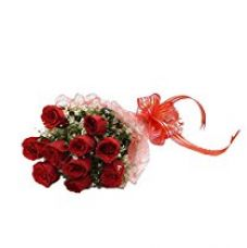 FloraIndia Red Roses Bunch (Bunch of 10) for Rs. 449