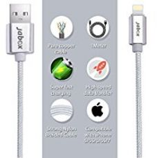 Apple iphone charging cable original long data cable - 1M length, 2.1A, amazon fulfilled for Rs. 349