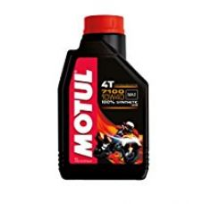 Motul 104091 7100 Ester 4T Fully Synthetic 10W-40 Petrol Engine Oil for Bikes (1 L) for Rs. 708