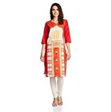 Buy Aurelia Women's Straight Kurta from Amazon
