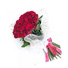 Buy Indian Gift Emporium Lovely Fresh Red Roses (Bunch of 24) from Amazon