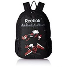 Buy Reebok Polyester 20 Cms Black Children's Backpack (AE5118) from Amazon