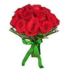 Buy Indian Gift Emporium Lovely Exotic Red Roses Bunch (Bunch of 16) from Amazon