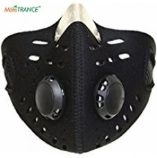 Buy Autofurnish Anti-pollution Half Face Mouth-muffle Dust Face Mask Specially for Bike Riders from Amazon