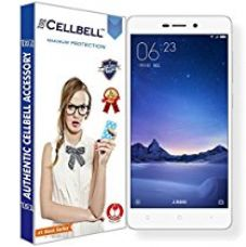 Buy Cellbell Tempered Glass Screen Protector For Xiaomi Redmi 3 / 3S / 4A With Installation Kit from Amazon