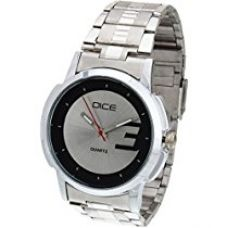 Dice Analogue White Dial Men's Watch LDR-W070-4317 for Rs. 499