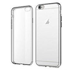 Buy Secro Iphone 6 Case, 360° Scratch-Resistant Soft Crystal Clear Back Case For Apple Iphone 6/6S (4.7 Inch) - Transperant from Amazon