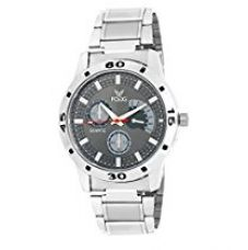 Buy Fogg Analog Grey Dial Men's Watch 2002-GR from Amazon