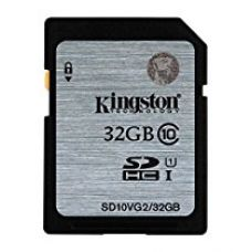 KINGSTON 32GB SDHC Class10 UHS-I 80MB/s Read for Rs. 1,250