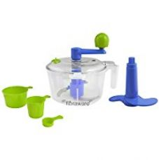 Floraware® 5-Piece Atta/Dough Maker/Kneader with Cut & Chop Kitchen Set, Blue for Rs. 375
