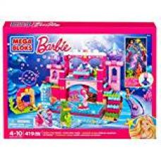 Fisher Price Mega Bloks Barbie Underwater Castle, Multi Color for Rs. 3,899