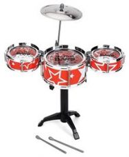 Buy Playmate Flash Music Jazz Drum Set - Orange for Rs. 449