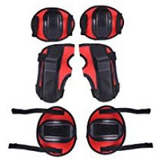 Buy Skating Protection Kit Basic, (Red) from Amazon