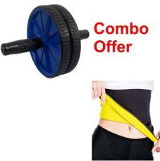 Buy Deemark combo of Ab rollar with Hot shepar-l for Rs. 399