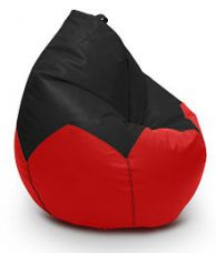 Flat 48% off on The Big Home  XXL Filled Bean Bag Red
