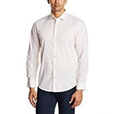Buy Peter England Men's Slim Fit Cotton Casual Shirt from Amazon