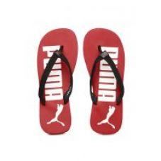 Buy Puma  Men's Black and Red Printed Flip-Flops for Rs. 199