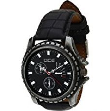 Buy Dice Analogue black Dial men Watch EXPSG-B178-2907 from Amazon