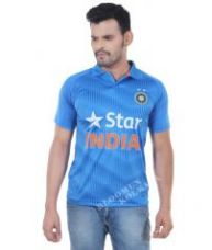 Indian Cricket Fan Jersey For Cricket Lovers Polo neck for Rs. 299