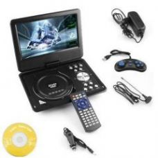 Get 25% off on 9.8 3d DVD Player Portable Evd With USB Playback TFT Swivel Flip Screen Game