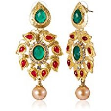 Buy Aheli Drop Earrings for Women (Multi-Colour)(A3E17) from Amazon