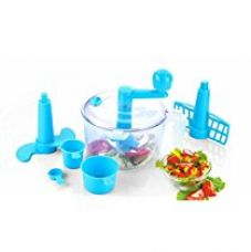 Buy WebelKart Ultimate 5-Piece Atta Dough Kneader Maker with Cutter Chopper Kitchen Set (Multicolor) from Amazon